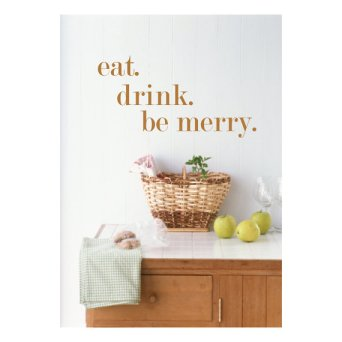 Eat Drink Be Merry luxeloft at Etsy.com