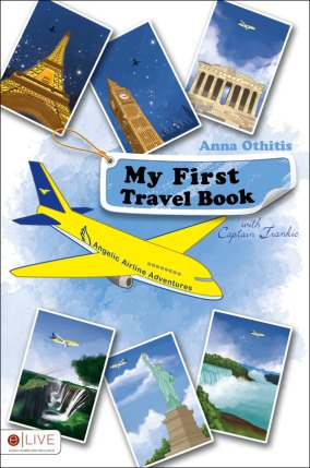 my first travel book Anna Othitis on etsy.com