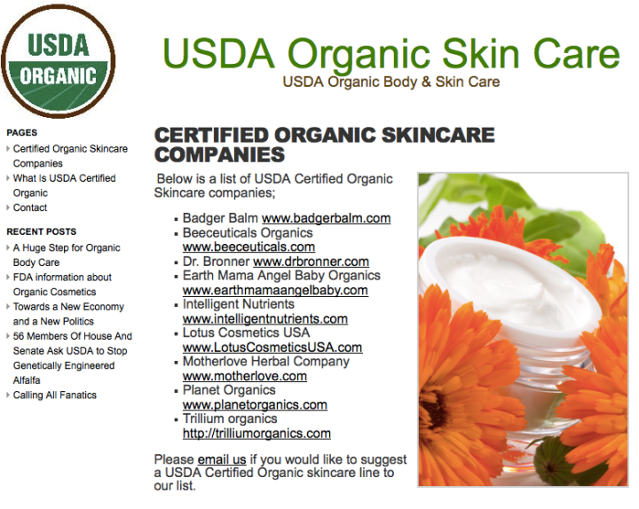 Though they claim to be certified organic, this company certainly is not.