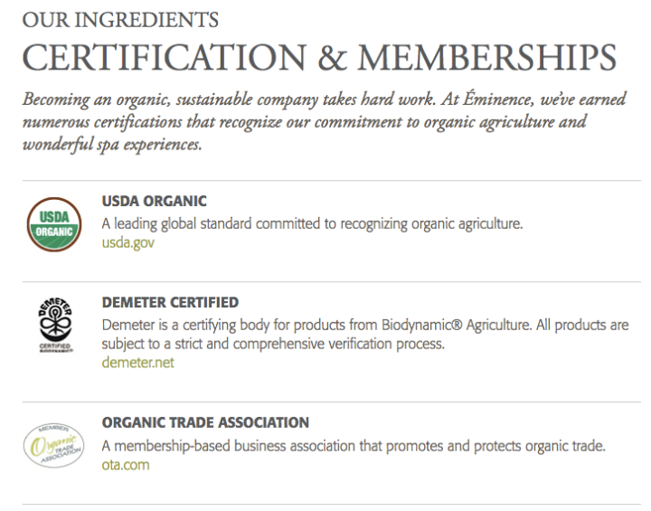 This company makes fake organic claims
